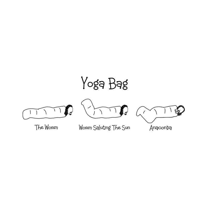 Black Books - Yoga Bag by Adrienne Body
