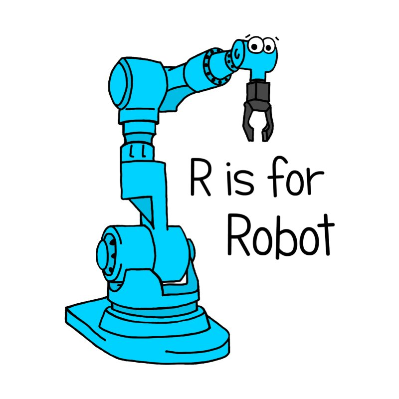 R is for Robot Men's Tank by Adrienne Body