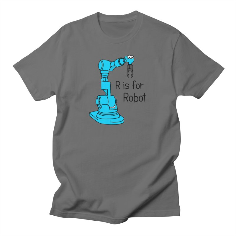 R is for Robot Men's T-Shirt by Adrienne Body
