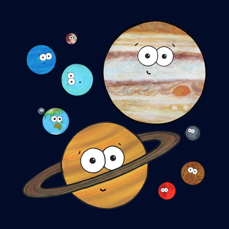 Cute Planets by Adrienne Body