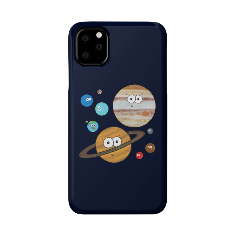 Cute Planets Accessories Phone Case by Adrienne Body