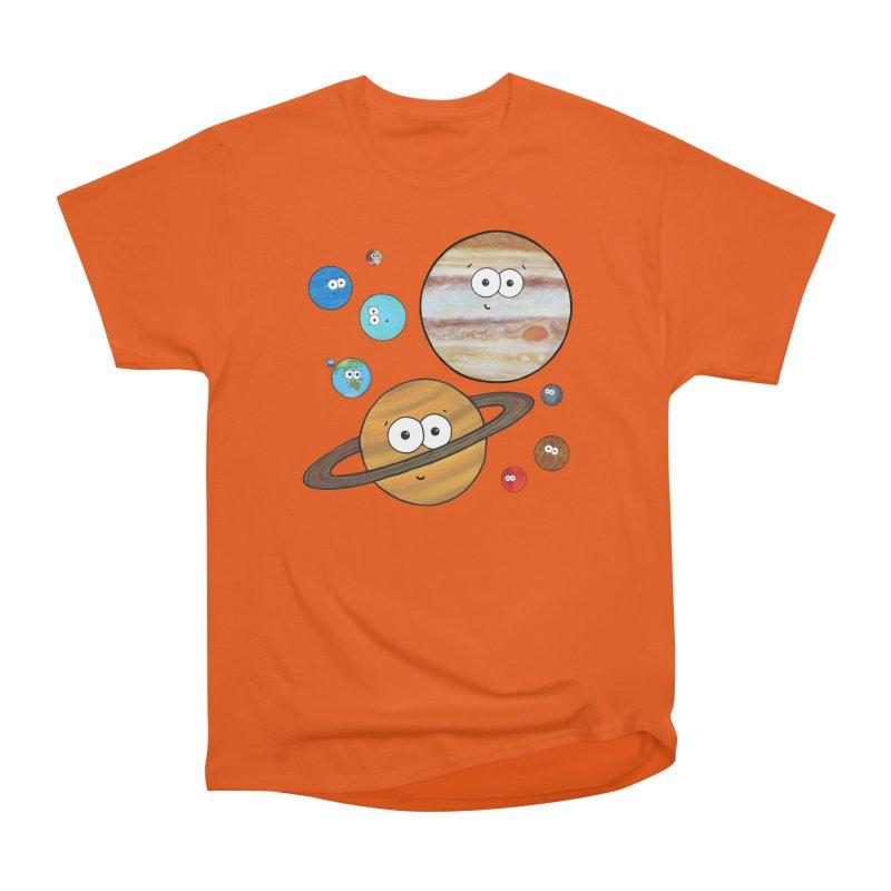 Cute Planets Women's T-Shirt by Adrienne Body