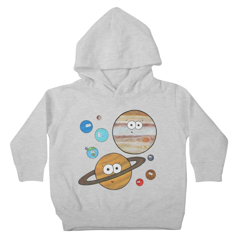 Cute Planets Kids Toddler Pullover Hoody by Adrienne Body