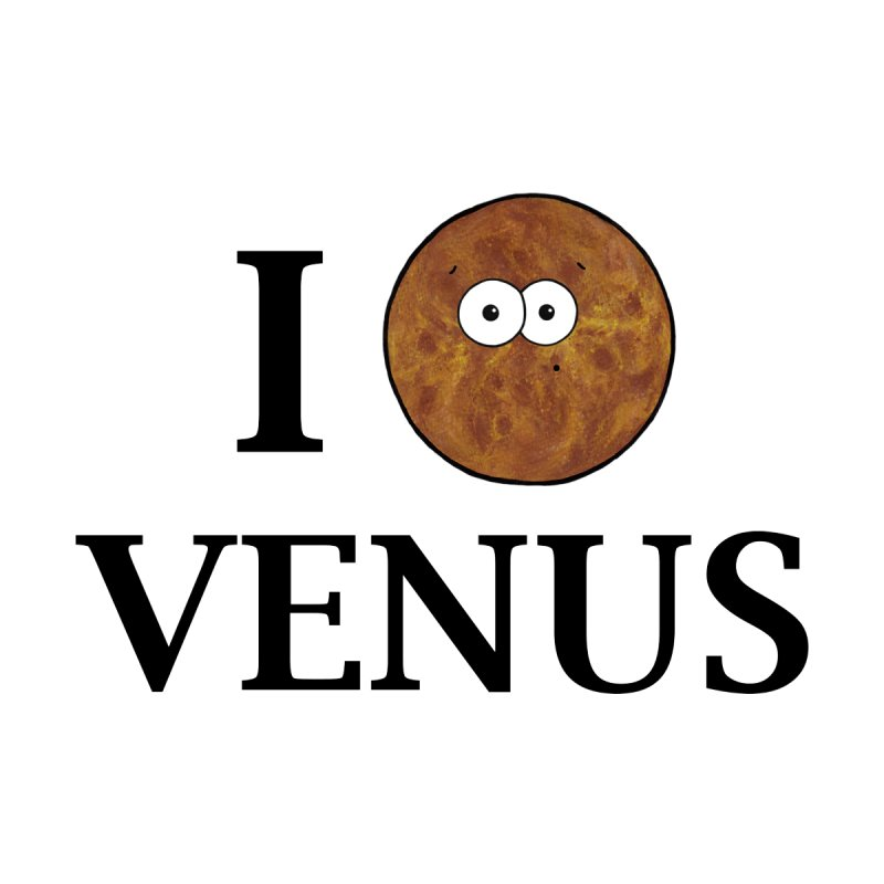 I Heart Venus Home Shower Curtain by Adrienne Body