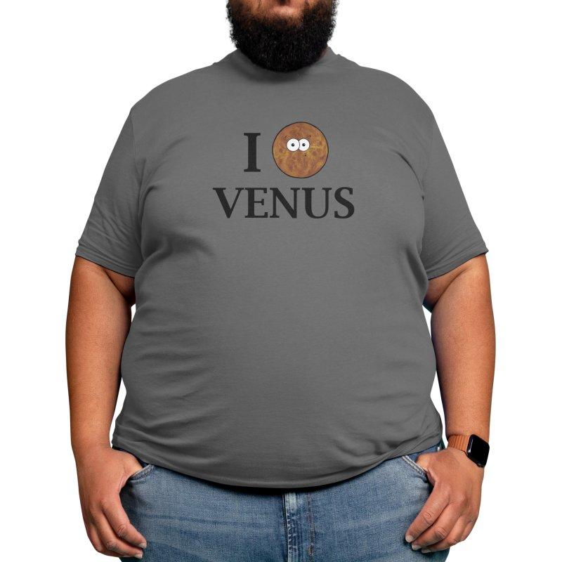 I Heart Venus Men's T-Shirt by Adrienne Body