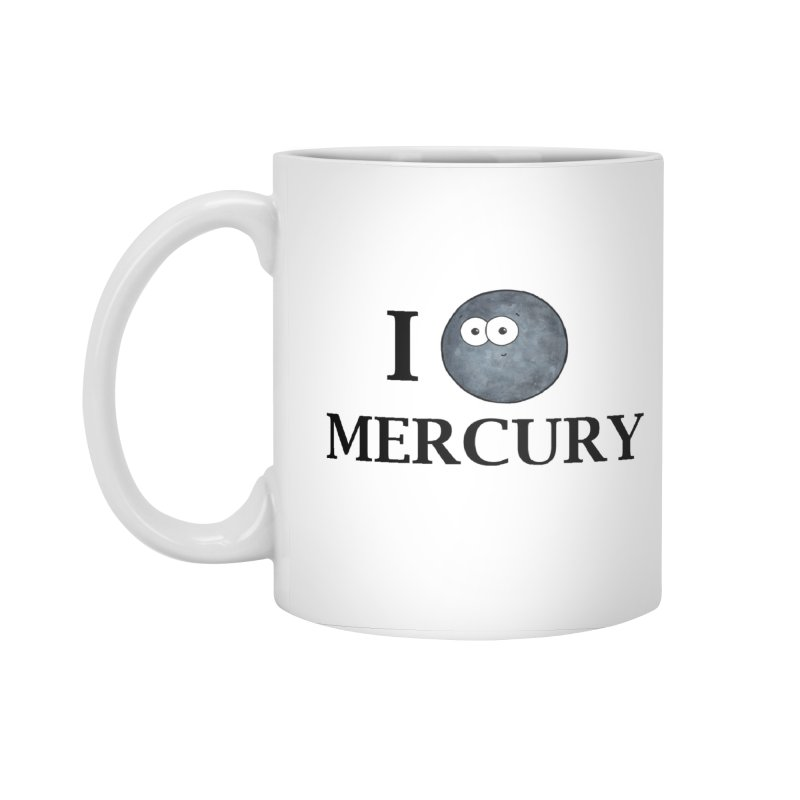 I Heart Mercury Accessories Standard Mug by Adrienne Body