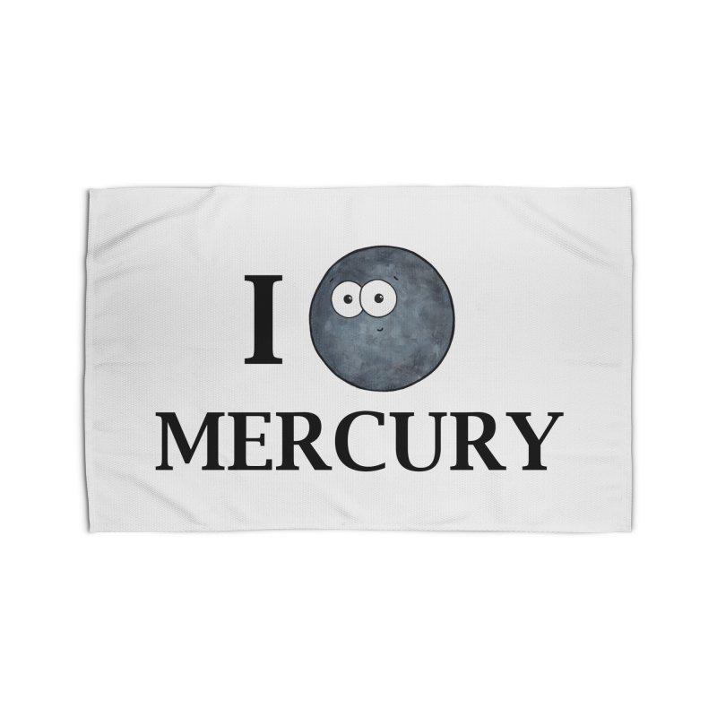 I Heart Mercury Home Rug by Adrienne Body