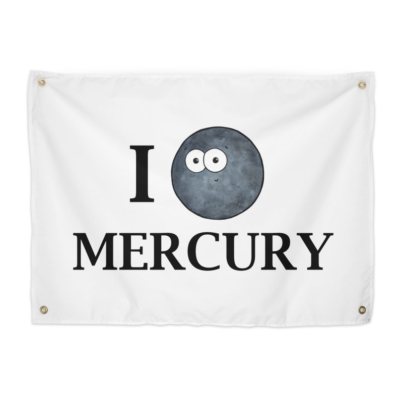 I Heart Mercury Home Tapestry by Adrienne Body