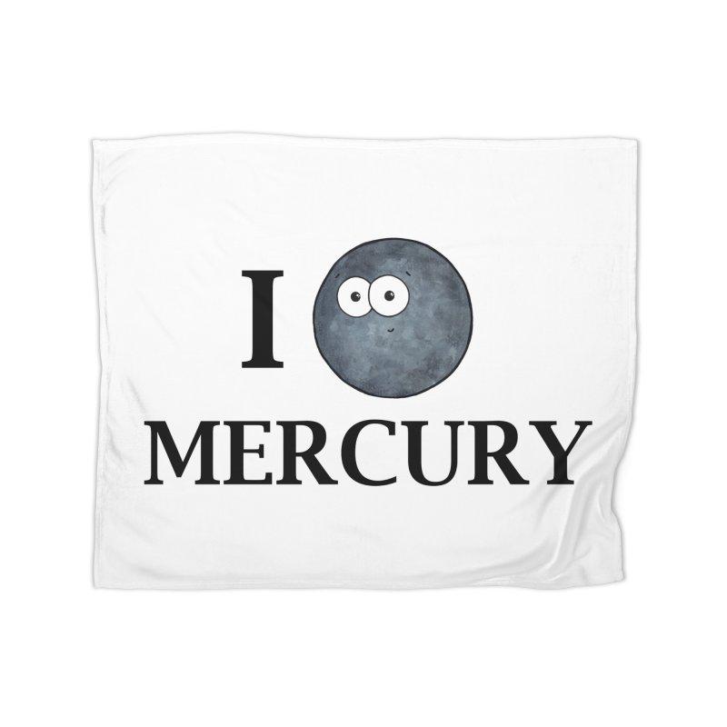 I Heart Mercury Home Fleece Blanket Blanket by Adrienne Body
