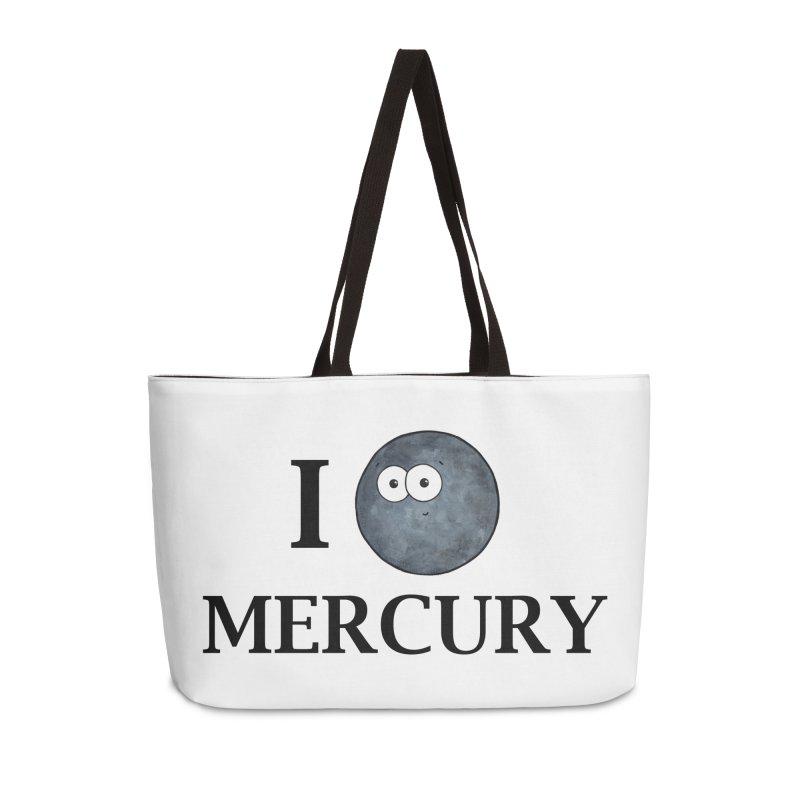 I Heart Mercury Accessories Weekender Bag Bag by Adrienne Body