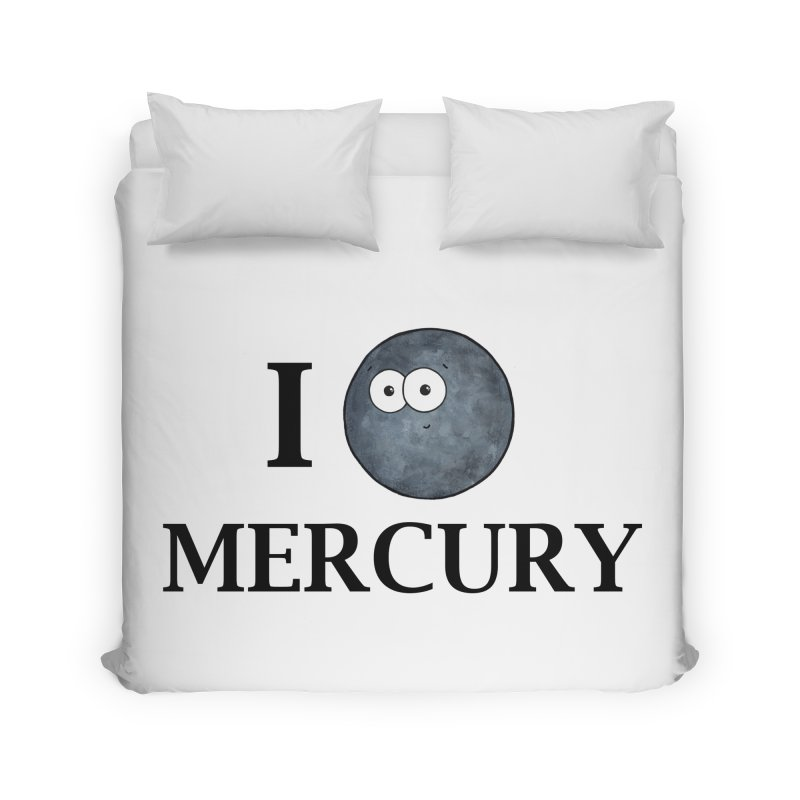 I Heart Mercury Home Duvet by Adrienne Body
