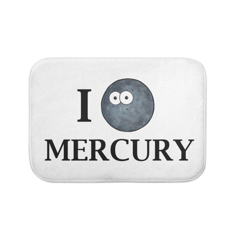 I Heart Mercury Home Bath Mat by Adrienne Body