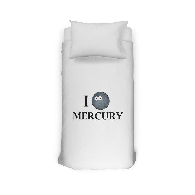 I Heart Mercury Home Duvet by Adrienne Body