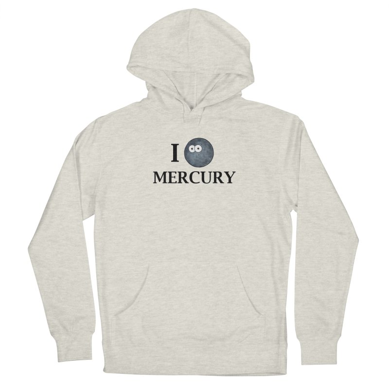 I Heart Mercury Women's French Terry Pullover Hoody by Adrienne Body