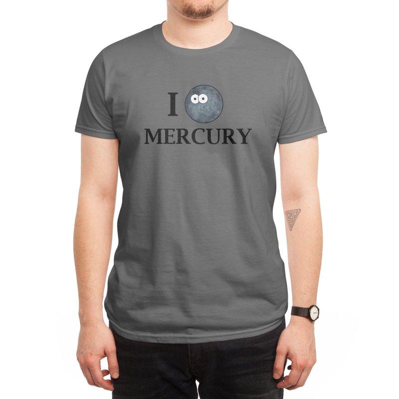 I Heart Mercury Men's T-Shirt by Adrienne Body