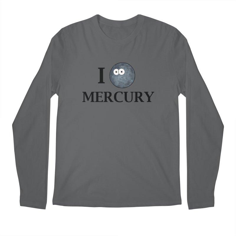 I Heart Mercury Men's Regular Longsleeve T-Shirt by Adrienne Body