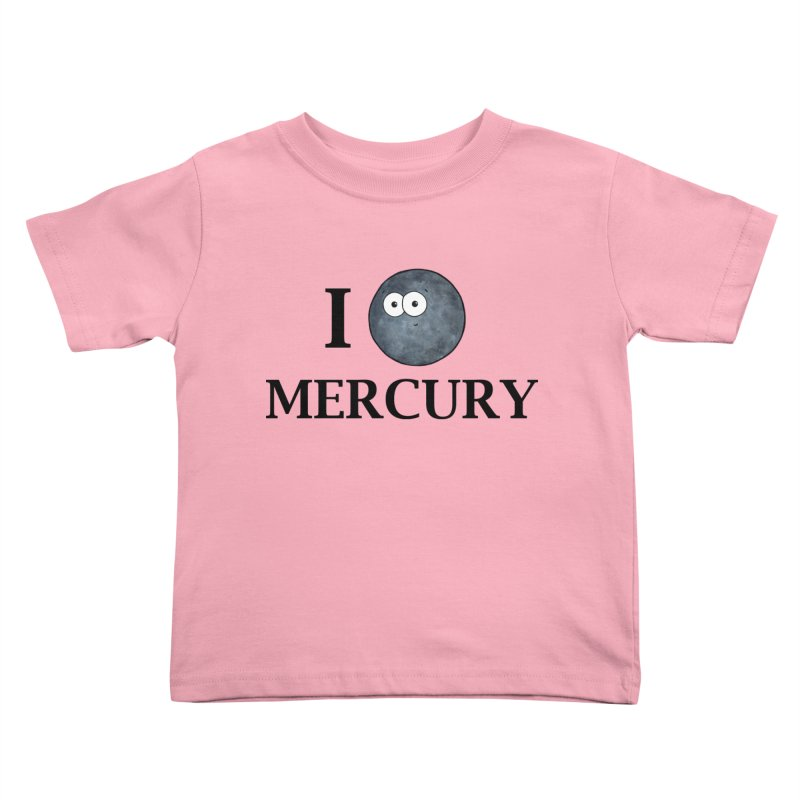 I Heart Mercury Kids Toddler T-Shirt by Adrienne Body