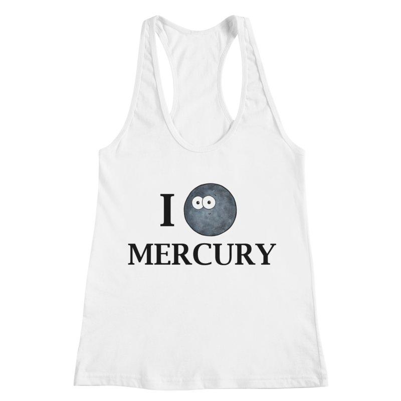 I Heart Mercury Women's Racerback Tank by Adrienne Body