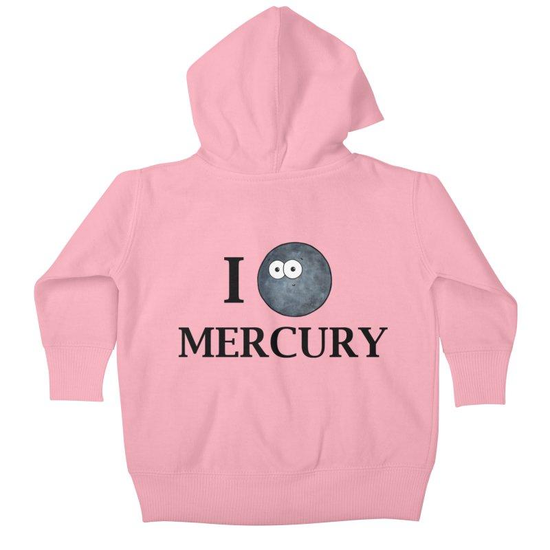 I Heart Mercury Kids Baby Zip-Up Hoody by Adrienne Body