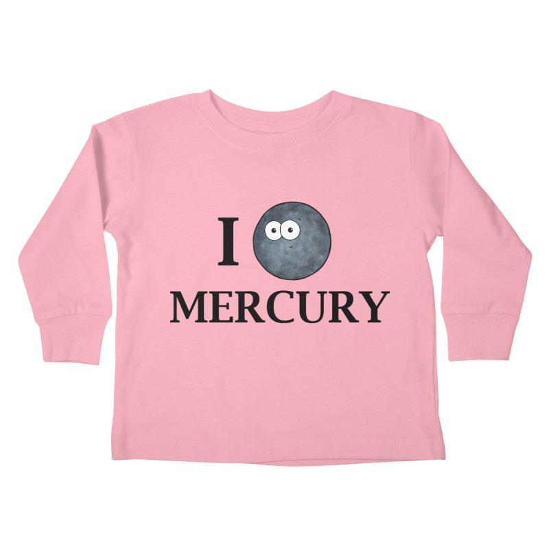 I Heart Mercury Kids Toddler Longsleeve T-Shirt by Adrienne Body