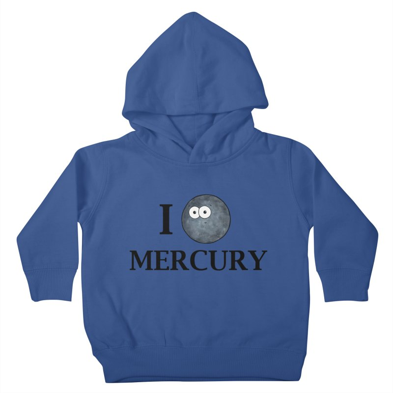 I Heart Mercury Kids Toddler Pullover Hoody by Adrienne Body