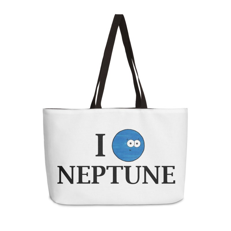 I Heart Neptune Accessories Weekender Bag Bag by Adrienne Body