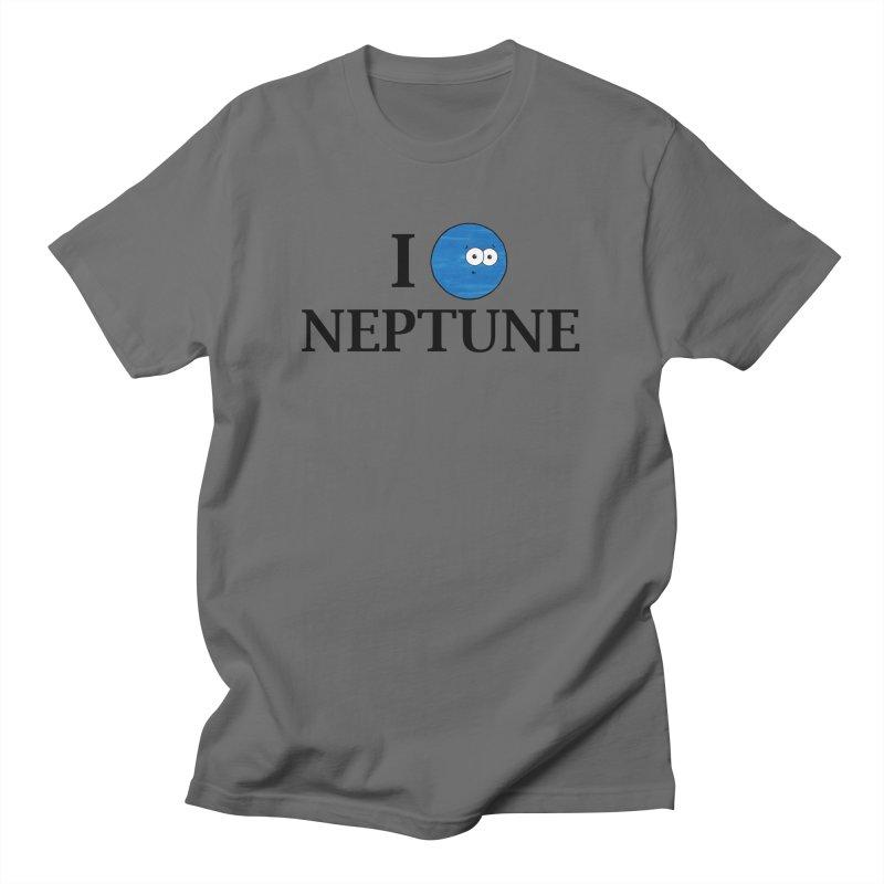 I Heart Neptune Men's T-Shirt by Adrienne Body