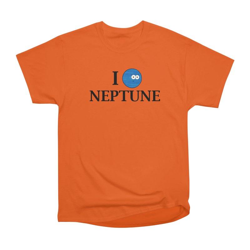 I Heart Neptune Women's T-Shirt by Adrienne Body