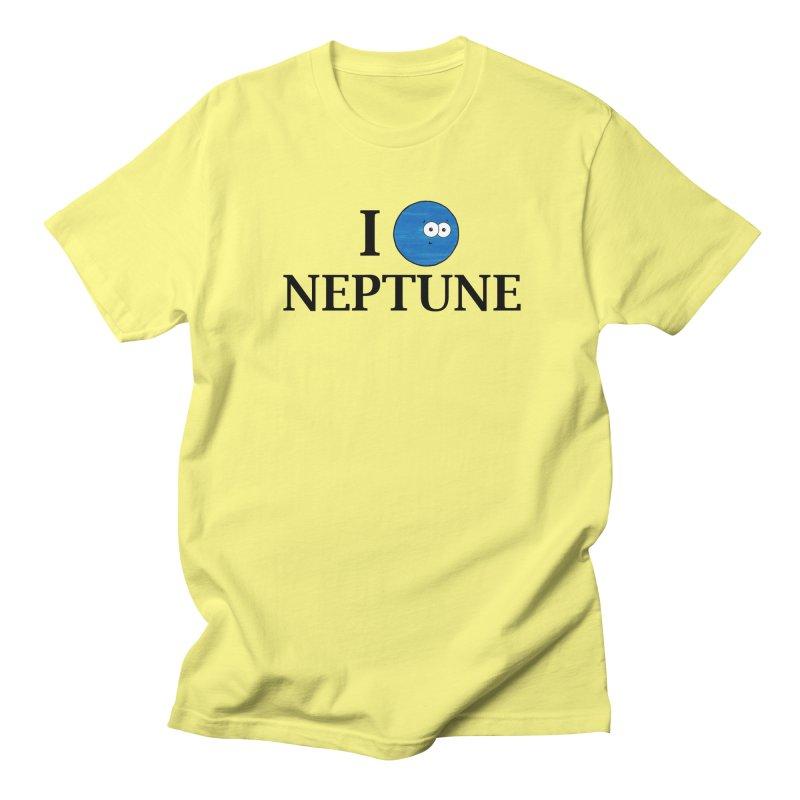 I Heart Neptune Men's Regular T-Shirt by Adrienne Body