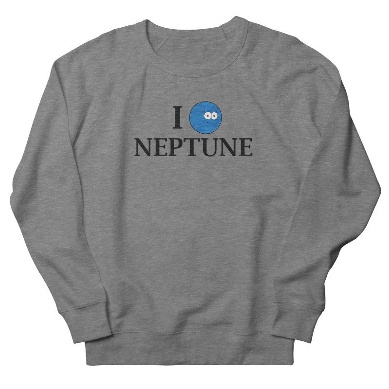 I Heart Neptune Women's French Terry Sweatshirt by Adrienne Body