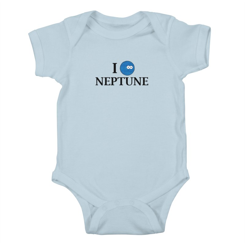 I Heart Neptune Kids Baby Bodysuit by Adrienne Body