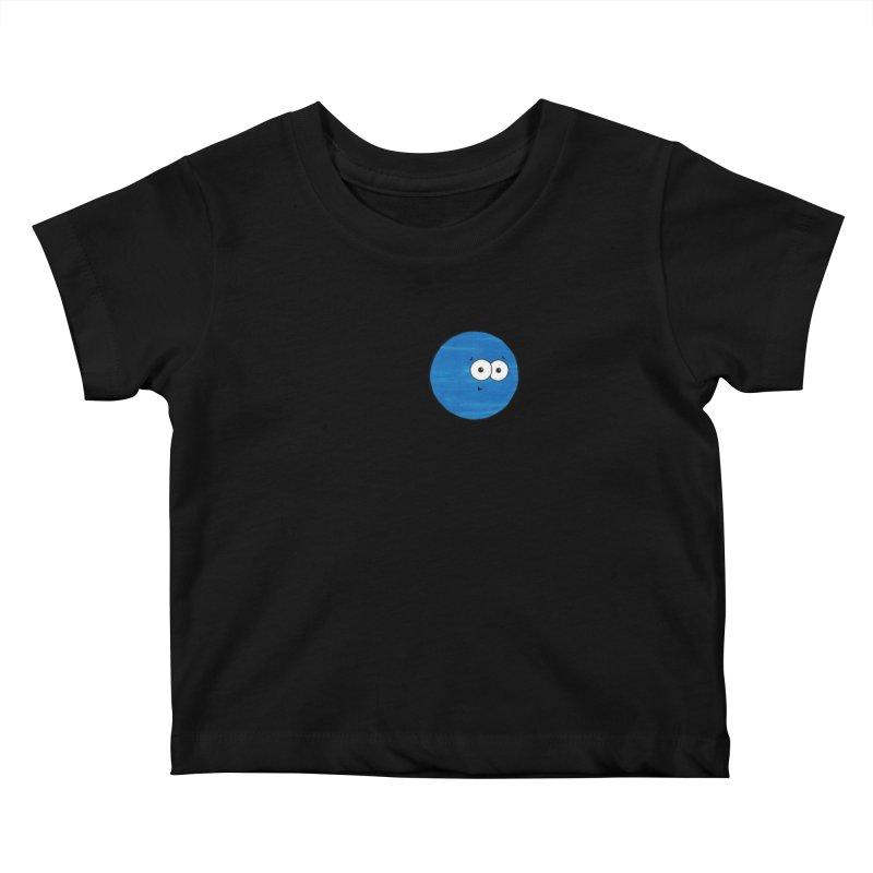 I Heart Neptune Kids Baby T-Shirt by Adrienne Body