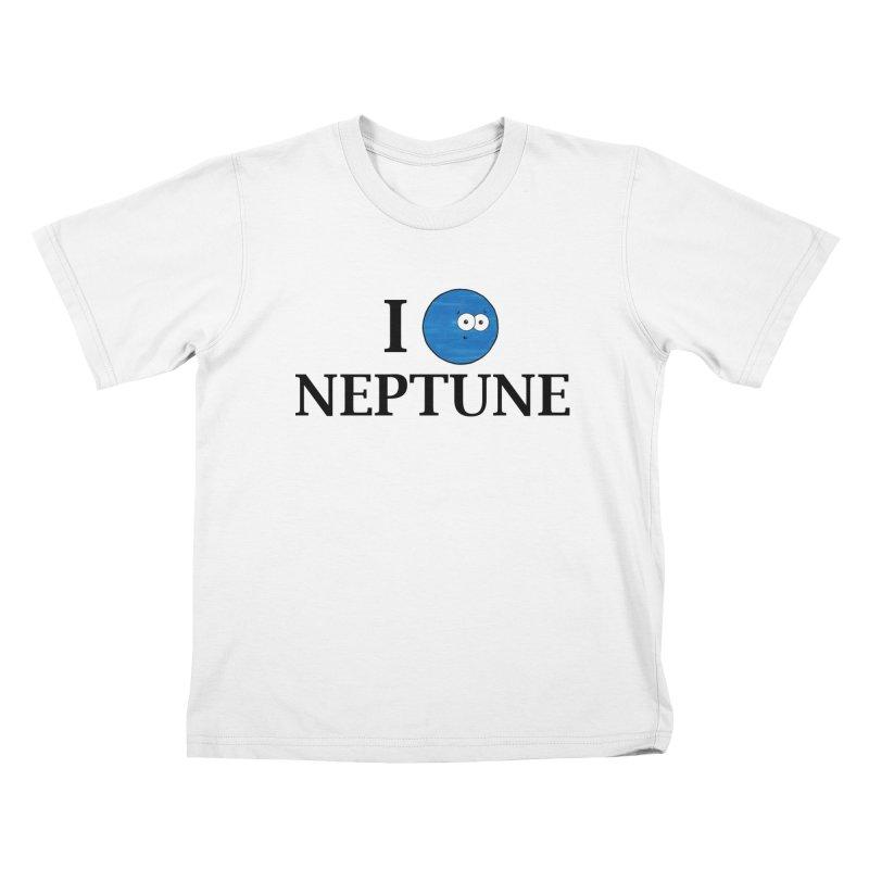 I Heart Neptune Kids T-Shirt by Adrienne Body