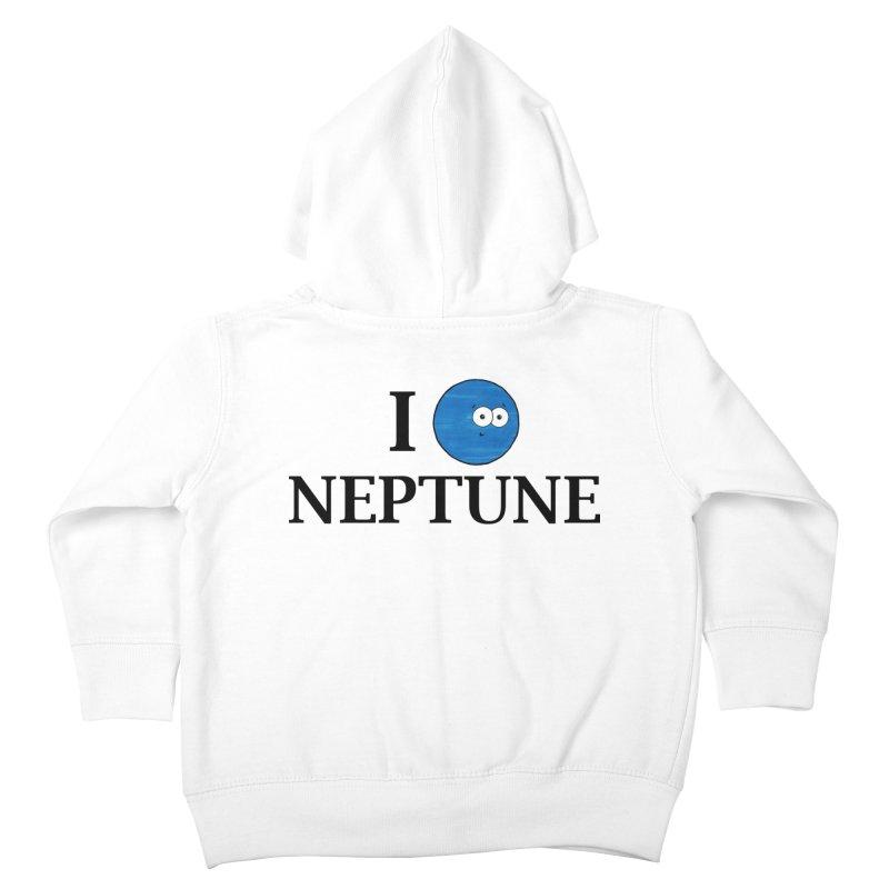 I Heart Neptune Kids Toddler Zip-Up Hoody by Adrienne Body