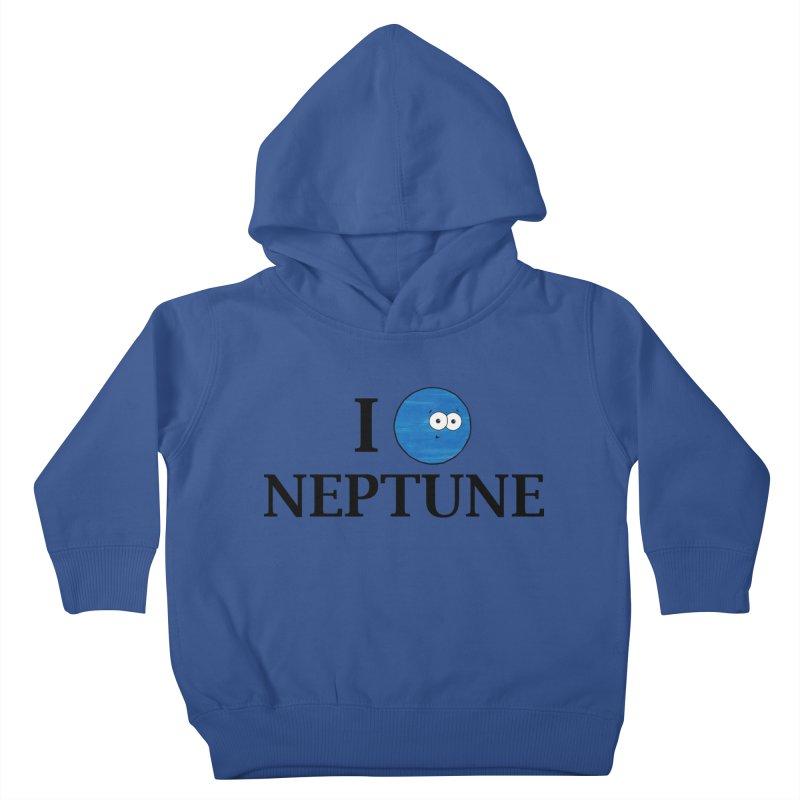 I Heart Neptune Kids Toddler Pullover Hoody by Adrienne Body