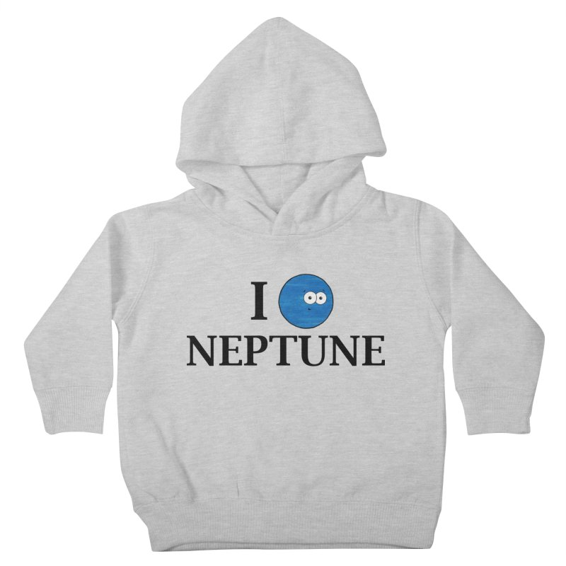 I Heart Neptune Kids Toddler Pullover Hoody by Adrienne Body