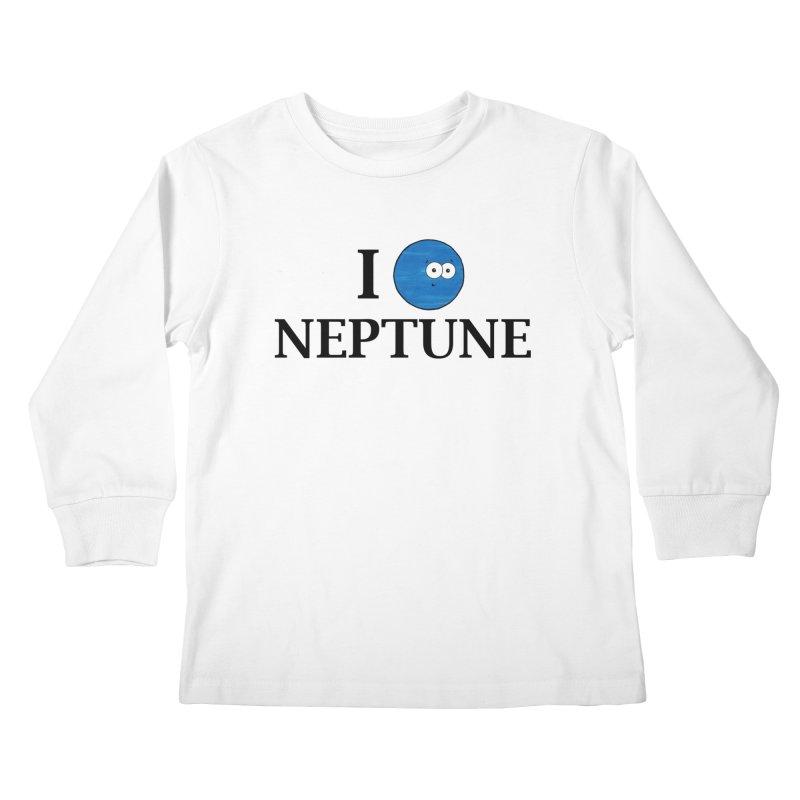 I Heart Neptune Kids Longsleeve T-Shirt by Adrienne Body