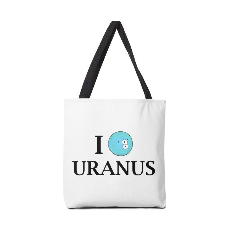 I Heart Uranus Accessories Tote Bag Bag by Adrienne Body