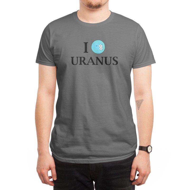 I Heart Uranus Men's T-Shirt by Adrienne Body