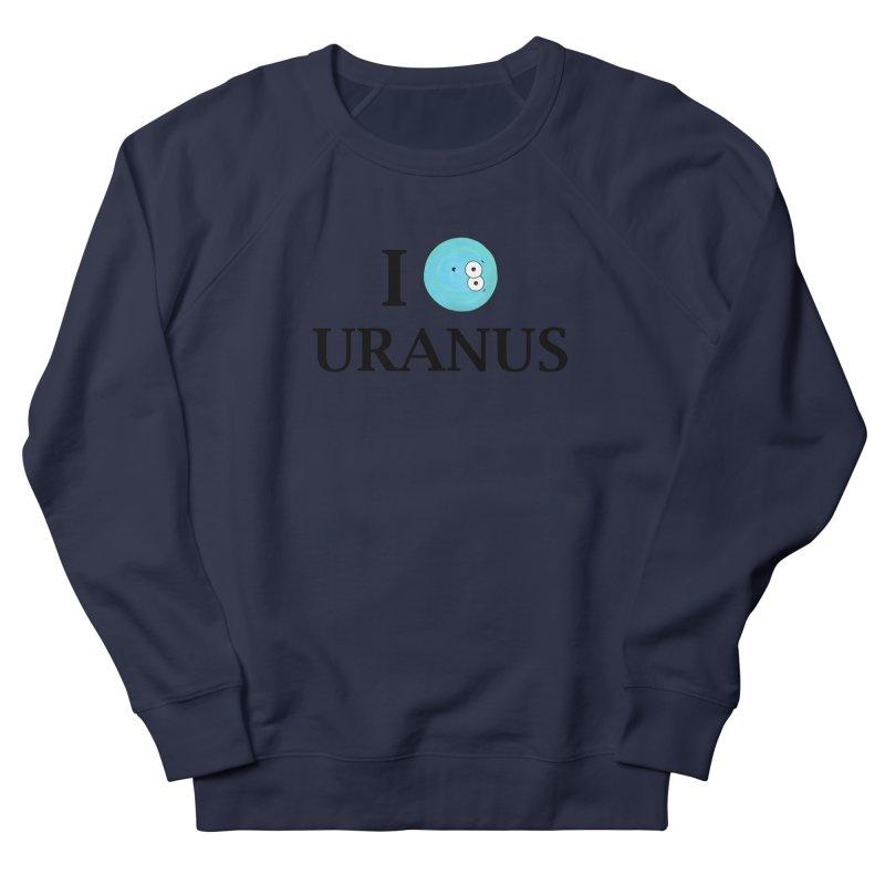 I Heart Uranus Men's French Terry Sweatshirt by Adrienne Body