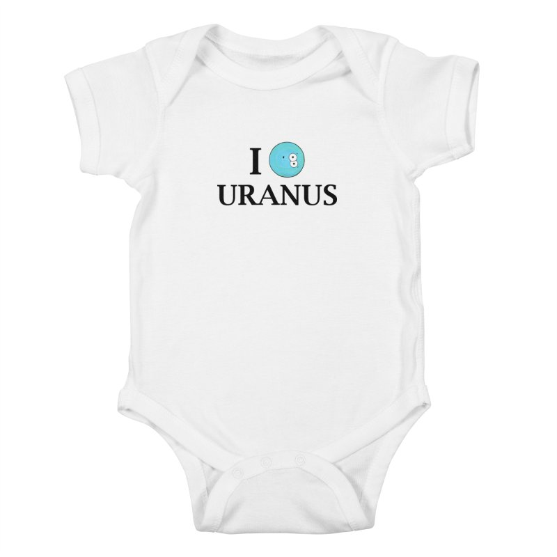 I Heart Uranus Kids Baby Bodysuit by Adrienne Body