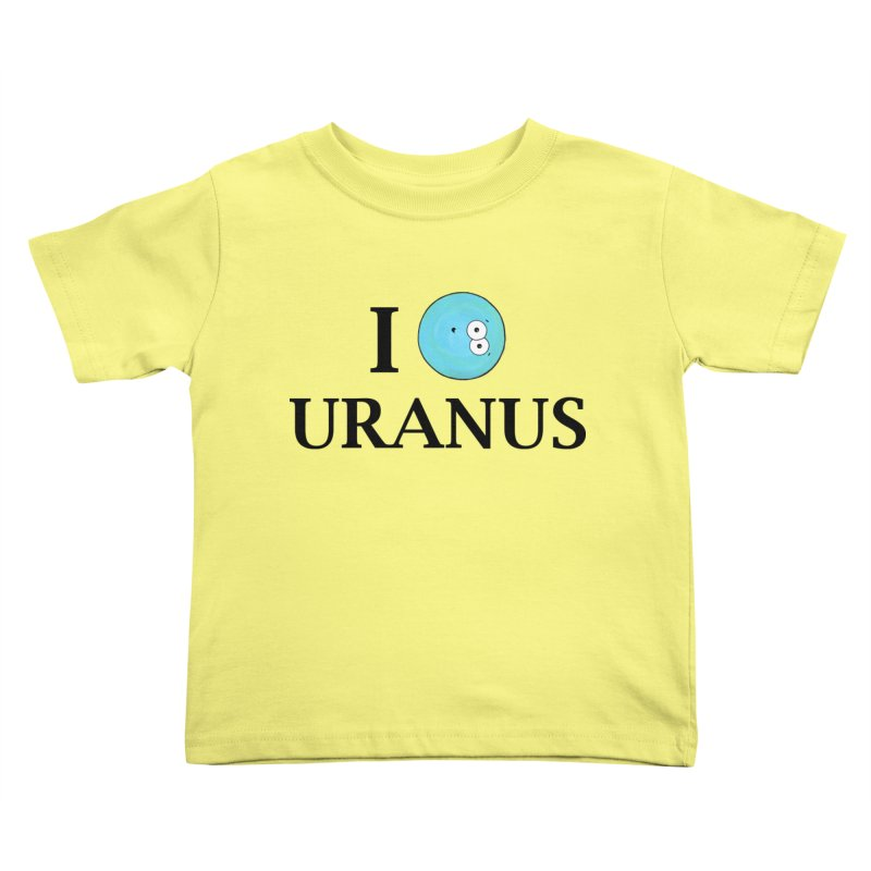I Heart Uranus Kids Toddler T-Shirt by Adrienne Body