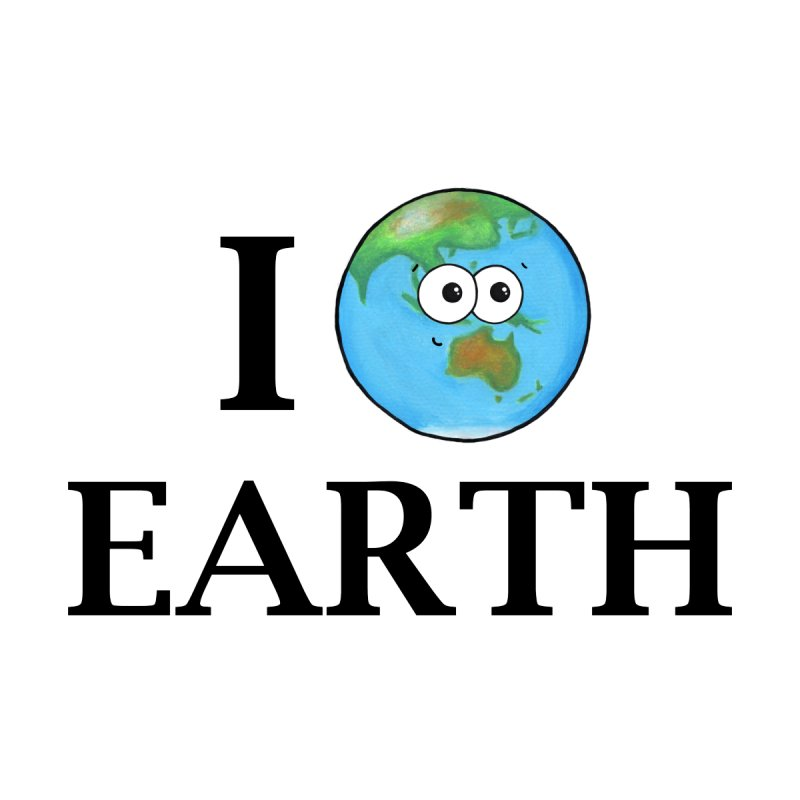 I Heart Earth Accessories Notebook by Adrienne Body