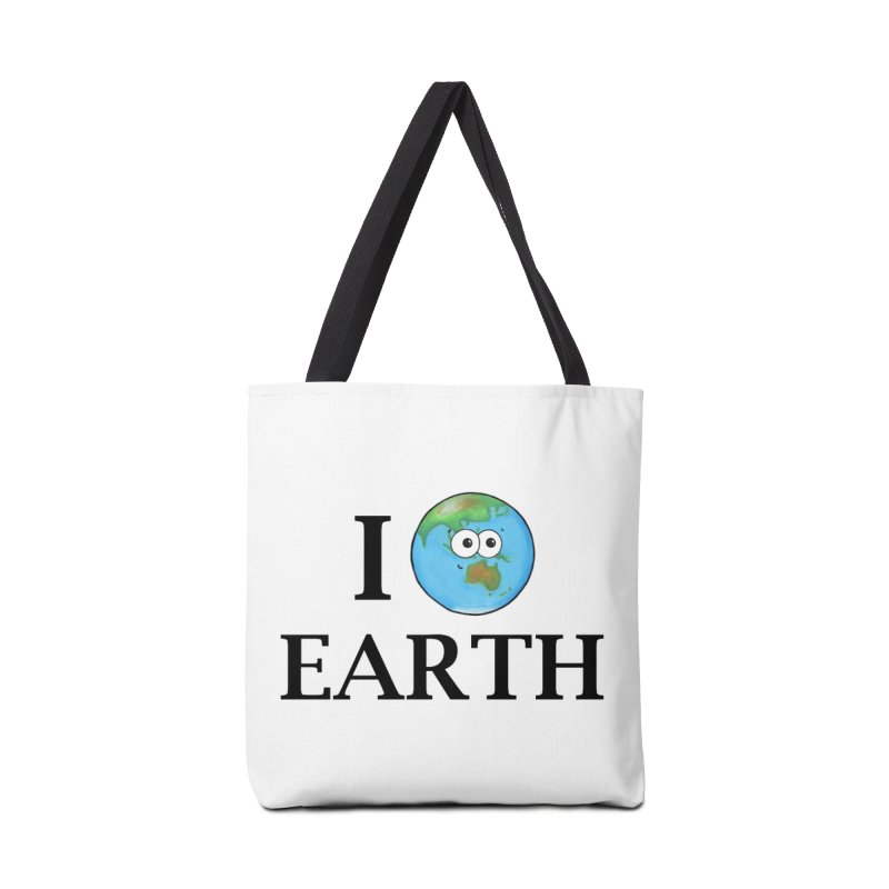 I Heart Earth Accessories Tote Bag Bag by Adrienne Body
