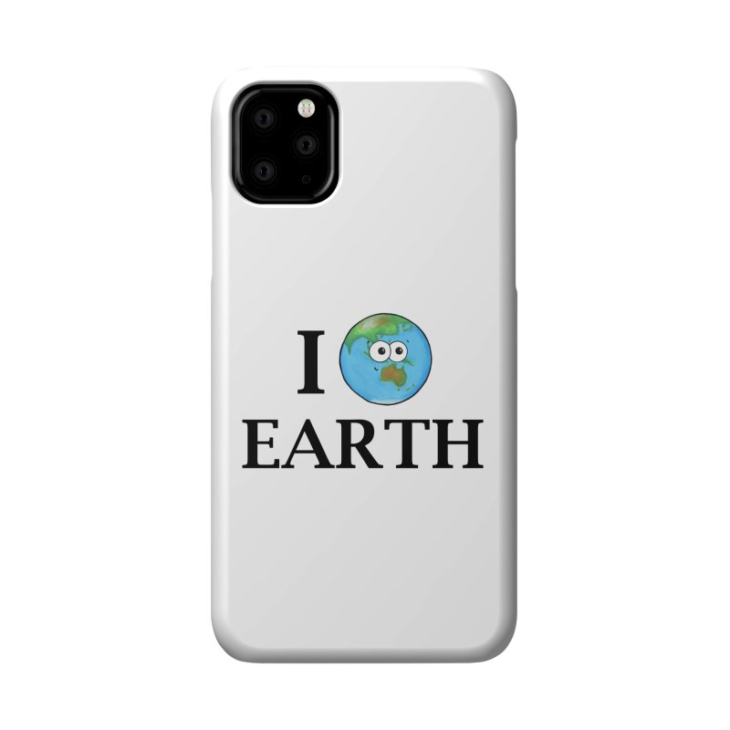 I Heart Earth Accessories Phone Case by Adrienne Body