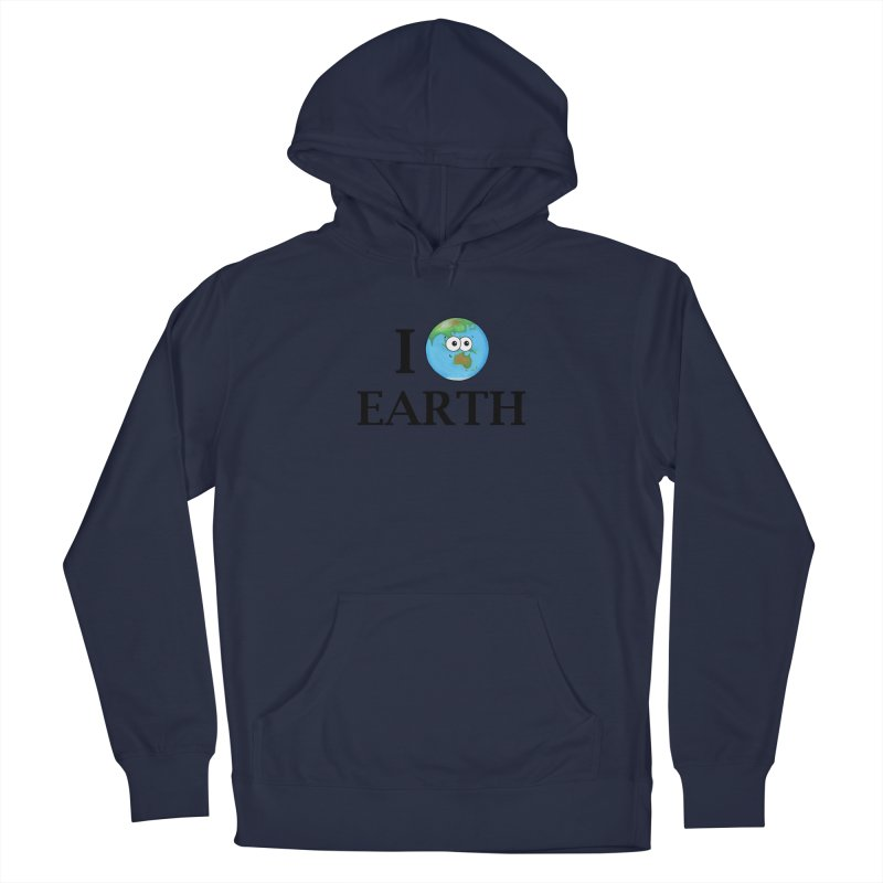 I Heart Earth Women's French Terry Pullover Hoody by Adrienne Body