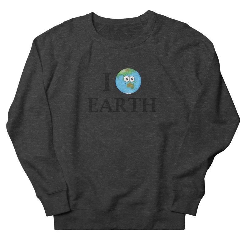 I Heart Earth Women's French Terry Sweatshirt by Adrienne Body