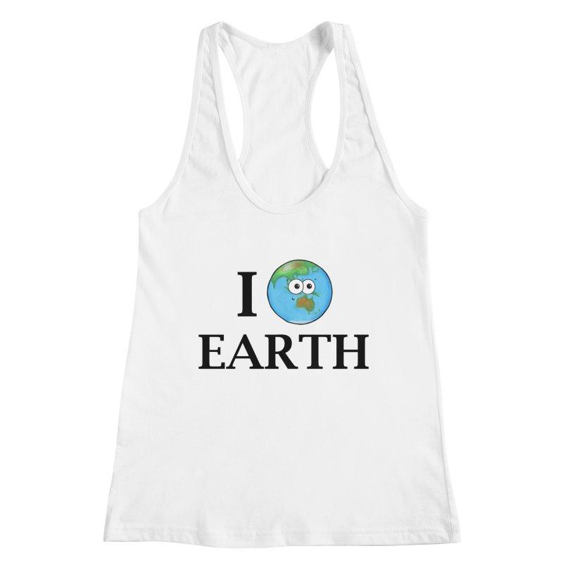 I Heart Earth Women's Racerback Tank by Adrienne Body