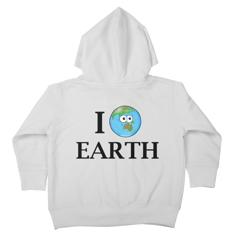 I Heart Earth Kids Toddler Zip-Up Hoody by Adrienne Body