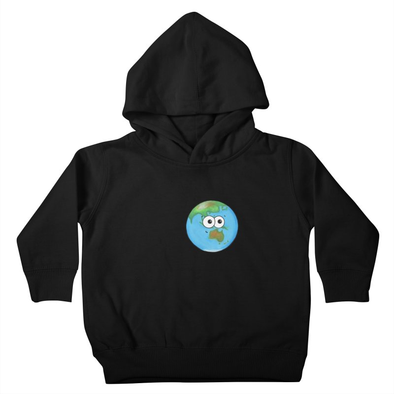 I Heart Earth Kids Toddler Pullover Hoody by Adrienne Body